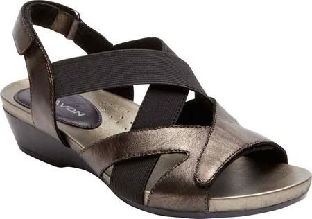 AravonWomen's Aravon Standon X Strap Slingback Wedge Sandal