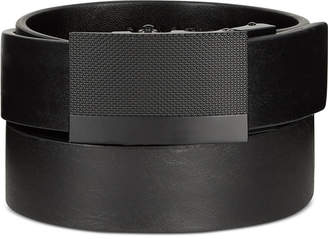 Kenneth Cole Reaction Men's Plaque Dress Belt