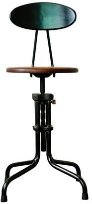 Nuevo L'Usine Adjustable Counter Stool With Back