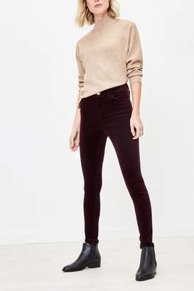 Oasis Womens Purple Cord Skinny Jeans - Purple