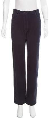 Gianni Versace High-Rise Pants