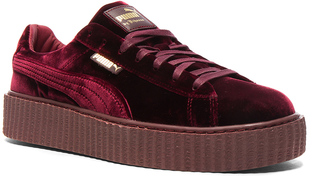 Fenty by Puma Creepers Velvet $150 thestylecure.com