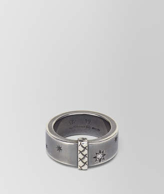 Bottega Veneta NATURAL ANTIQUE SILVER STELLULAR RING