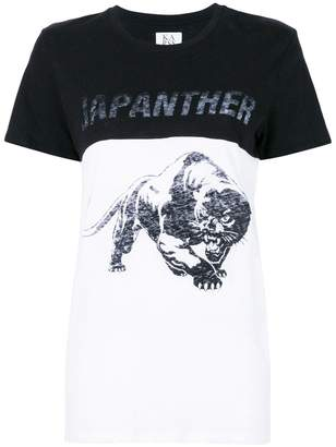 Zoe Karssen Japanther print T-shirt