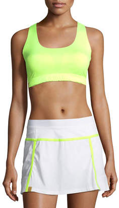 Monreal London Essential Scoop-Neck Performance Sports Bra