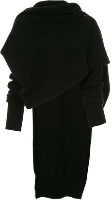 Isabel Benenato draped sweater