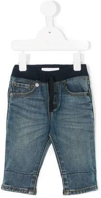Burberry elasticated waist jeans