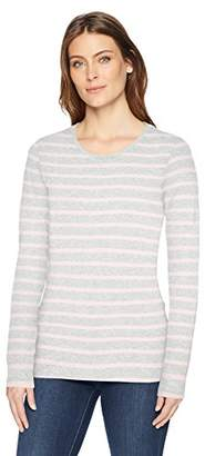 Amazon Essentials Women's Long-Sleeve Patterned T-Shirt