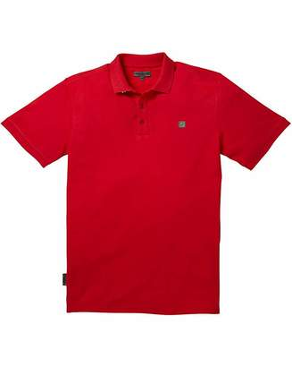 Voi Jeans Beach Red Polo Long