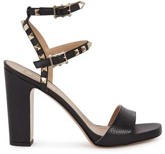 Valentino Rockstud 105 Leather Sandals
