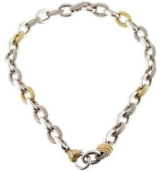 Judith Ripka Diamond Link Collar