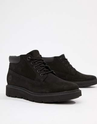 Timberland Kenniston Nellie Black Leather Ankle Boots