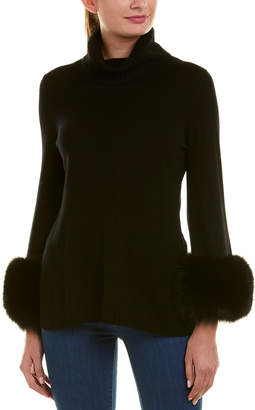 Sofia Cashmere sofiacashmere Sofiacashmere Turtleneck Cashmere Sweater