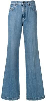 Diesel Black Gold vintage-effect bootcut jeans