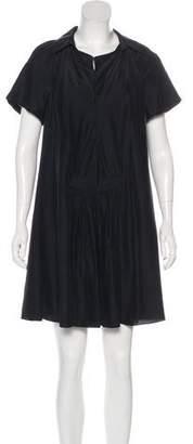 Balenciaga Oversize Shift Mini Dress