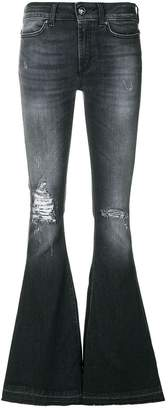 Dondup distressed flared jeans