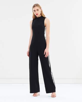 Miss Selfridge Side Stripe Jumpsuit