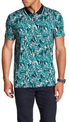 Ted Baker Leaf Print Shirt