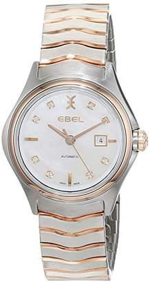 Ebel Womens Analogue Classic Automatic Watch with Stainless Steel Strap 1216199