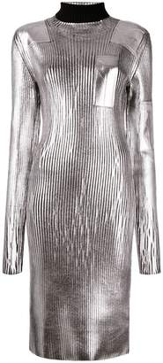 MM6 MAISON MARGIELA ribbed turtleneck dress