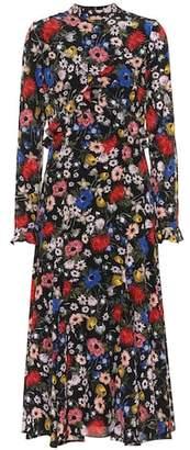 Erdem Cordelia floral silk midi dress