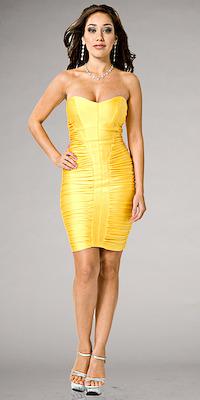 Strapless Mini Dresses by Atria