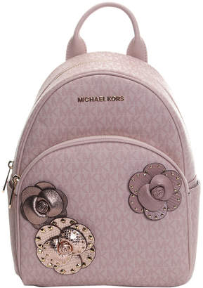 Michael Kors Michael Abbey Medium Leather Backpack