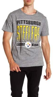 Junk Food Clothing Pittsburgh Steelers Touchdown Tee