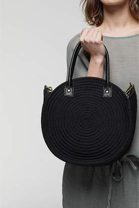 Country Road Round Rope Tote