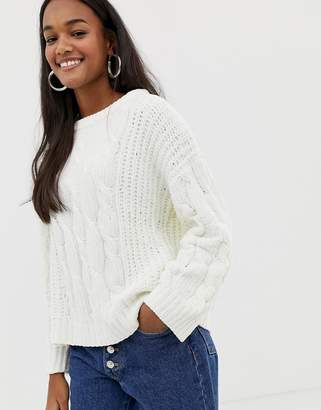 Brave Soul indo sweater in chenille
