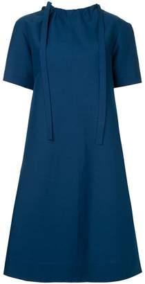 Marni short-sleeve flared midi dress