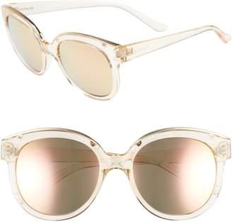 Seafolly Palm Beach 54mm Cat Eye Sunglasses
