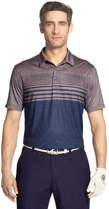 Izod Men's SwingFlex Classic-Fit Striped Performance Golf Polo