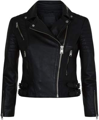 AllSaints Papin Leather Biker Jacket