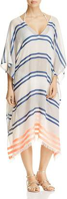 Echo Mambo Stripe Caftan Swim Cover-Up $69 thestylecure.com