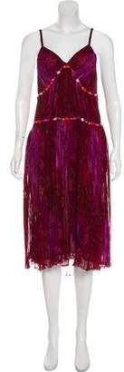 Ungaro Silk Midi Dress