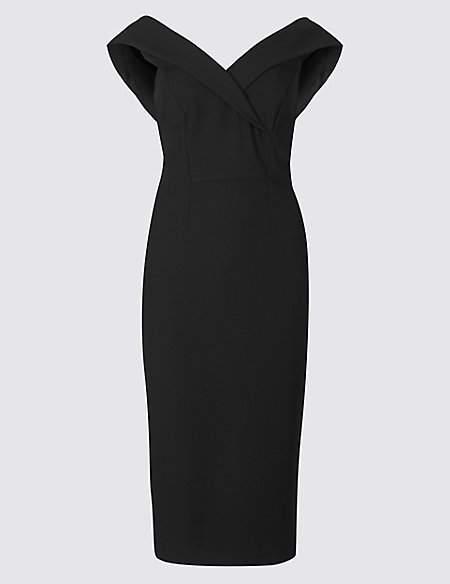 Double Crepe Bodycon Dress
