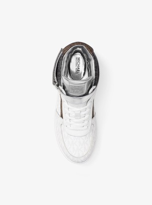 MICHAEL Michael Kors Jaden Color-Block Logo High-Top Sneaker