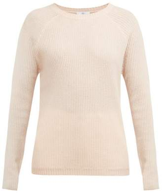 Allude Ribbed Fine Knit Cashmere Sweater - Womens - Cream