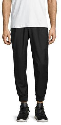 McQ Alexander McQueen Tailored Wool Track Pants $395 thestylecure.com