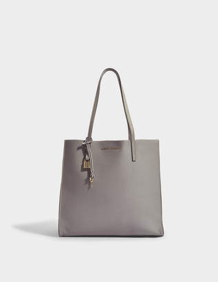 Marc Jacobs The Grind Tote Bag in Stone Grey Cow Leather