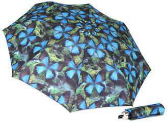Ulysses butterflies print umbrella