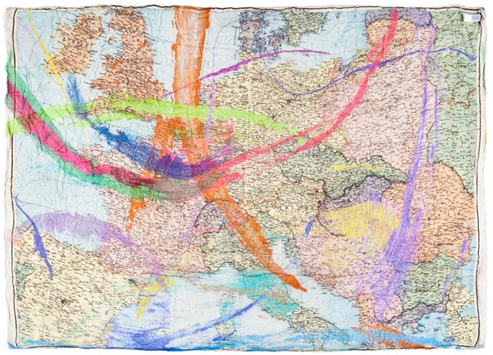 Faliero Sarti Europe in Map