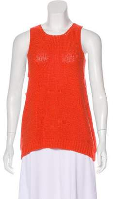 J Brand Sleeveless Cutout Top