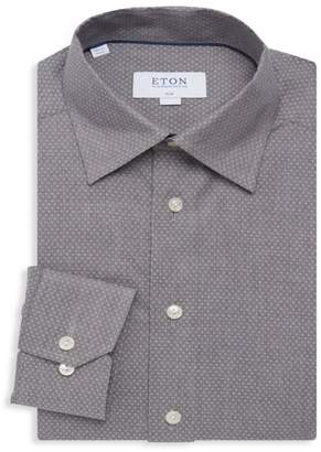 Eton Slim-Fit Textured Cotton Shirt
