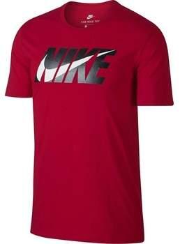 T-Shirt M Nsw Swoosh Block T-shirt Uomo Rossa 911924657