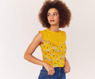 Oasis DELILAH BRODERIE TOP