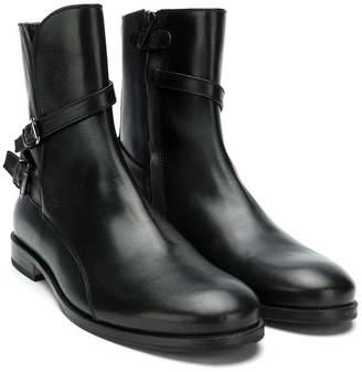 Gallucci Kids harness buckle boots