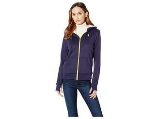 U.S. Polo Assn. Fleece Zip-Up Hoodie Women's Coat