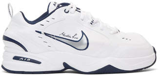 Nike White Martine Rose Edition Air Monarch IV Sneakers